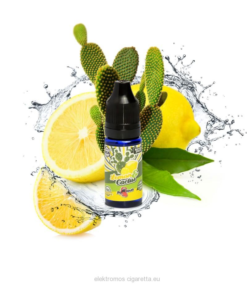 Lemon & Cactus Big Mouth e liquid aroma