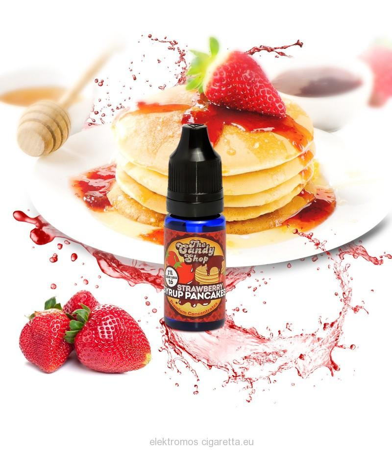 Strawberry Syrup Pancakes -Big Mouth e liquid aroma