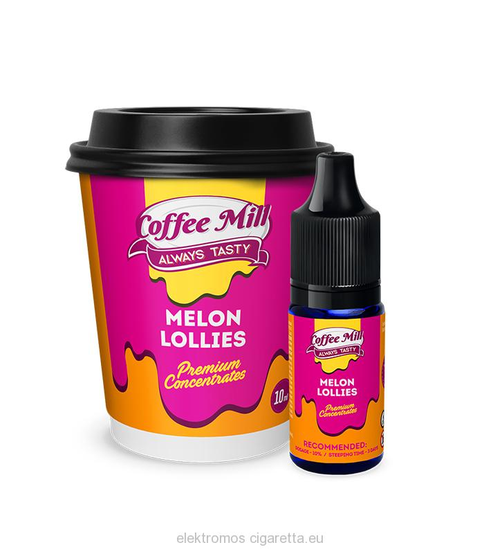 Coffee Mill Melon Lollies - 10ml