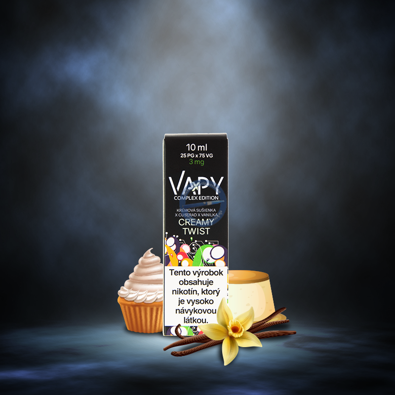 VAPY Creamy Twist Prémium e liquid 10ml