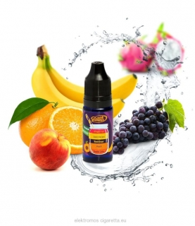 Orange juice - peach - black grape - sweet banana - dragon fruit- Big Mouth