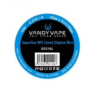 Superfine MTL Fused Clapton - Vandy Vape