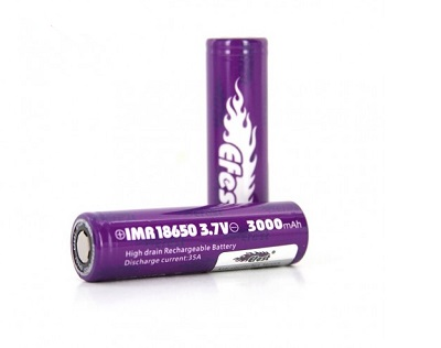 Efest 35A IMR 18650 3000mah flat top  akkumulátor